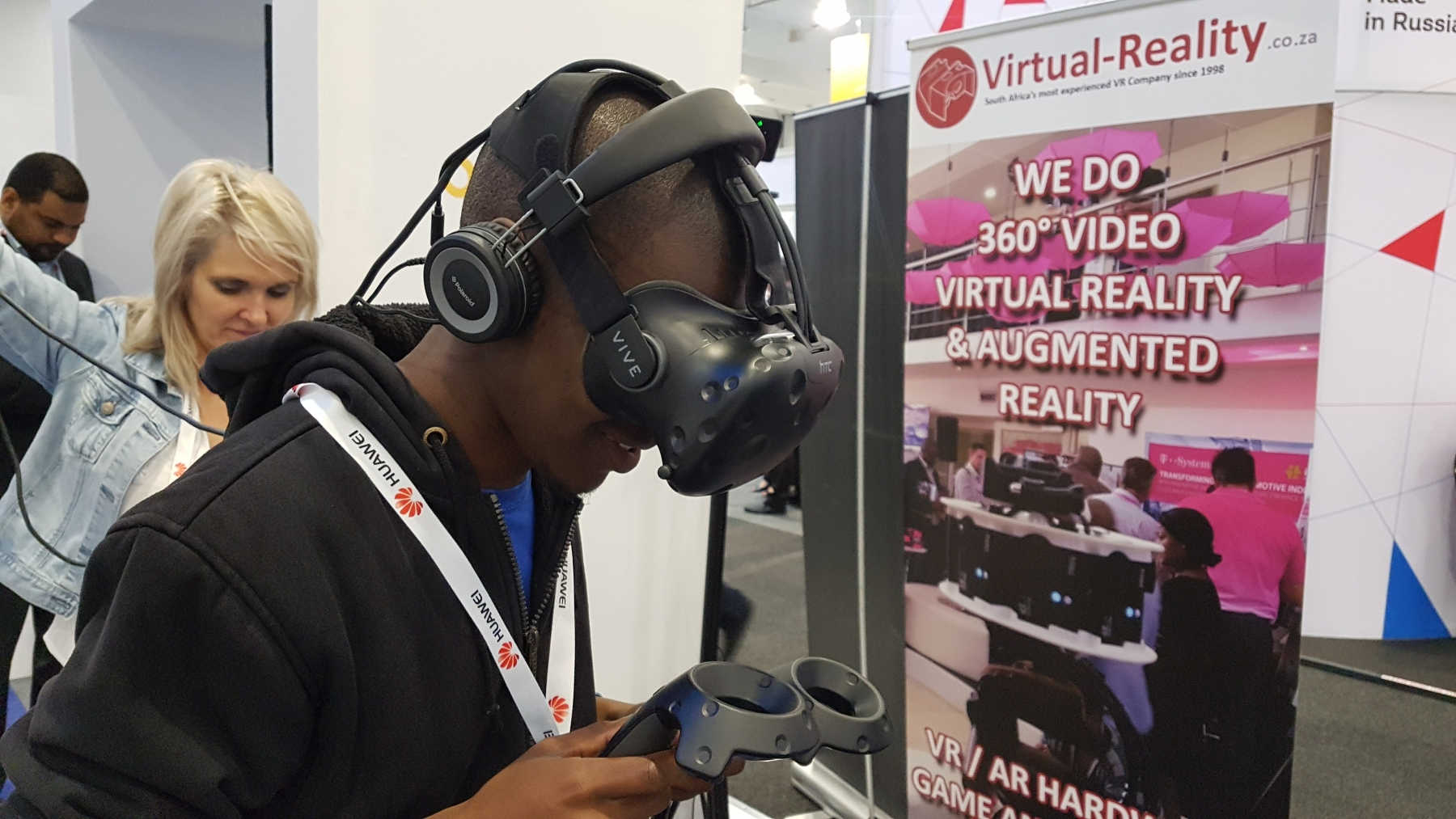 AfricaCom Virtual Reality | Virtual Reality Activations